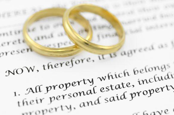 CA Prenuptial Agreement